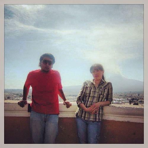 ??? Cerca de El Popocatepetl