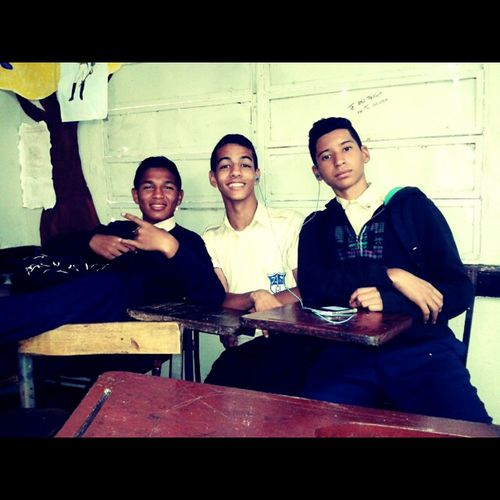 Brothers!! School Flow Swagg Hi! Brothers Friends Black Relaxing Studient