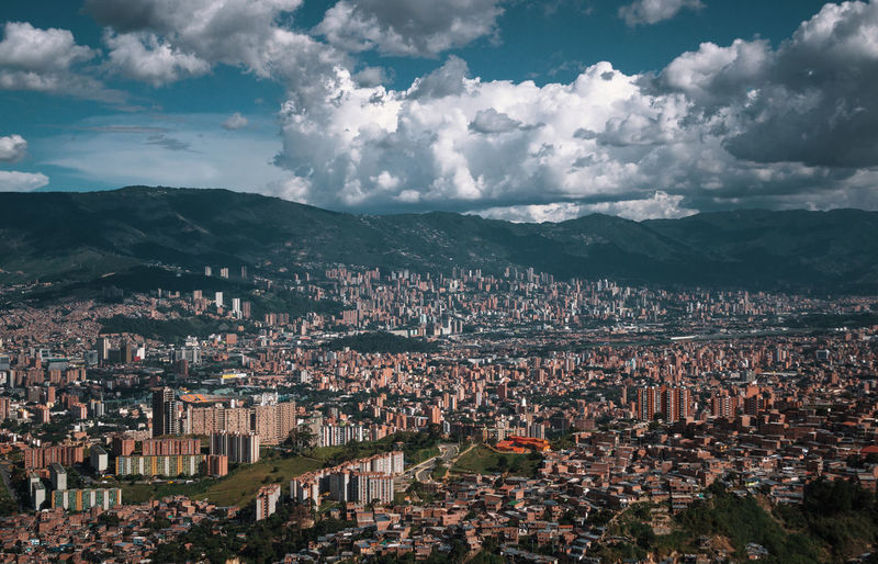 Exploring the city of Medellín. Architecture Building Exterior Built Structure City Nature Outdoors Travel Destinations South America Latin America Explore Urban Cloud - Sky Sky Cityscape Residential District Mountain Crowd Building Crowded Day High Angle View Environment Town Community TOWNSCAPE Urban Sprawl Settlement