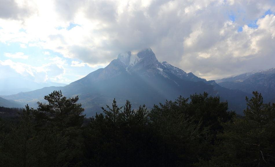 Montañas Nevadas Nature Paisajes Pedra Forca