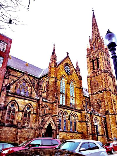 Churches Church On Newbury Street Boston MA City Church Street Photography Architecture Shot On IPhone 6s IPhoneography Iphone 6 Plus Emanuel Church Emanuel Church Boston MA City Of Boston The Week On EyeEm The Weekend On EyeEm EyeEm Best Shots EyeEm Feature Photographer