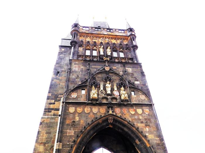Old Town, Prague Arch Architectural Feature Architecture Building Exterior Built Structure Capital Cities  City Day Façade High Section Historic History Low Angle View No People Old Town Old Town Bridge Tower Outdoors Prague Sky Tall - High Tourism Travel Destinations