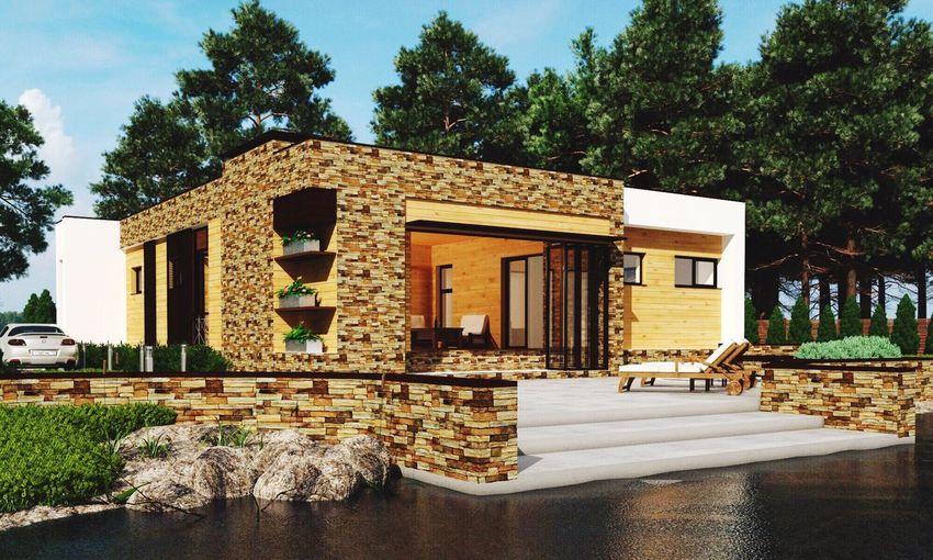 загородный дом коттедж Home Bilding архитектура Arhitecture