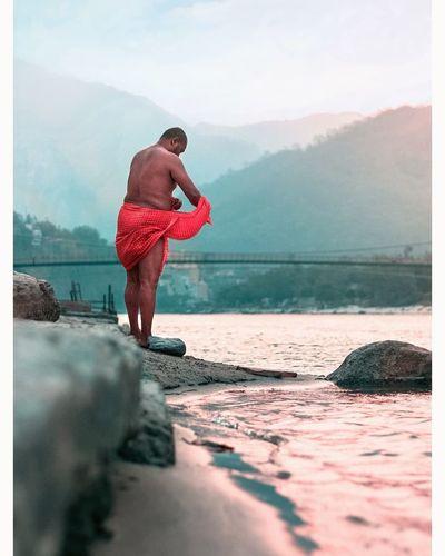 Ganga, the holy