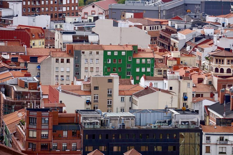 City view from bilbao spain, bilbao architecture