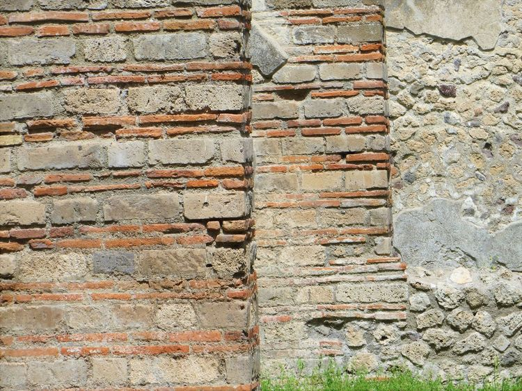 Architecture Backgrounds Brick Wall Building Exterior Built Structure Close-up Day Full Frame No People Outdoors Pompei Scavi Pompeii Details Pompeii Ruins Stone Material Textured  Wall - Building Feature Weathered
