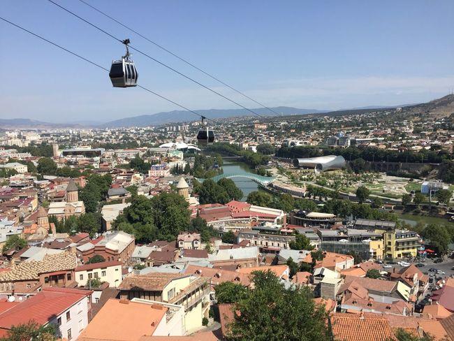 #Georgia #House #OldTown #Tbilisi #cable Car #cityscape First Eyeem Photo