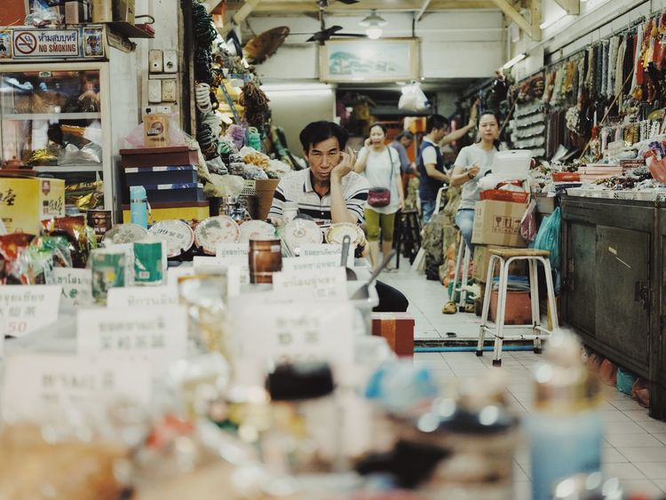 Store Front GFX50s Indoors  Real People Workshop One Person Occupation Day Working