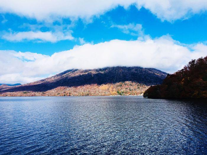 山 紅葉 男体山 青空 湖 中禅寺湖 絶景 秋 EyeEm Selects Cloud - Sky Sky Scenics - Nature Beauty In Nature Tranquil Scene Mountain Tranquility Nature Water Day No People Non-urban Scene Blue Outdoors Mountain Range EyeEmNewHere