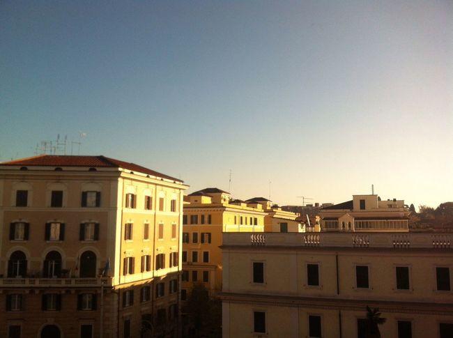 italy building Roma good morning italian architecture Italian Sky Blue Sky Good Morning On The Way