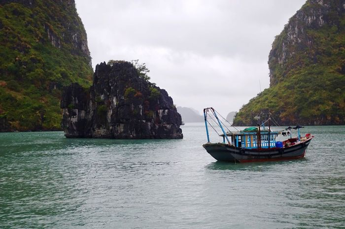 Nature Beauty In Nature Vietnam Travel Water Along Bay Wanderlust No People Vacations Boat 2017