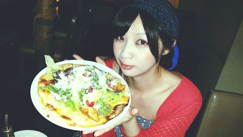 Pizza Dinner Time Meeting Friends Dericious Makuhari Mather Moon Cafe Ilikefood Newmakeup Japan