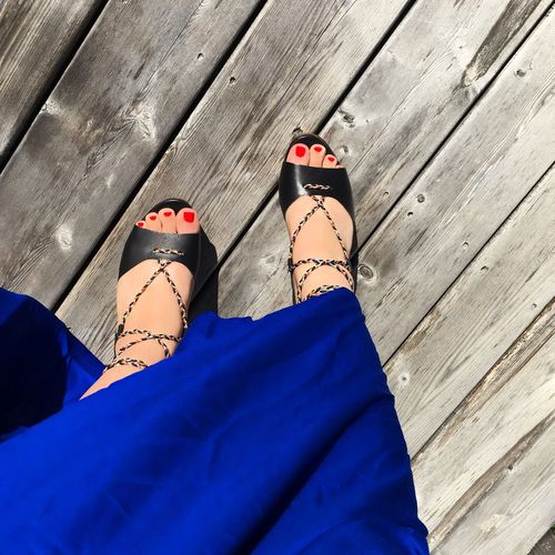 Spanish dress Spanish Beautiful Shoes Dress Shoe High Angle View Feet Red Polish Real People Beautiful Dress  Dress Perspectives