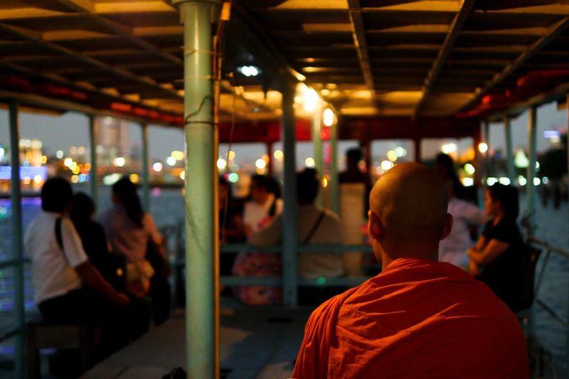 The City Light Bangkok Thailand Ferry