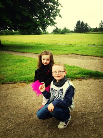 Walking Around Enjoying The Sun Niece & Nephew Lovelovelove