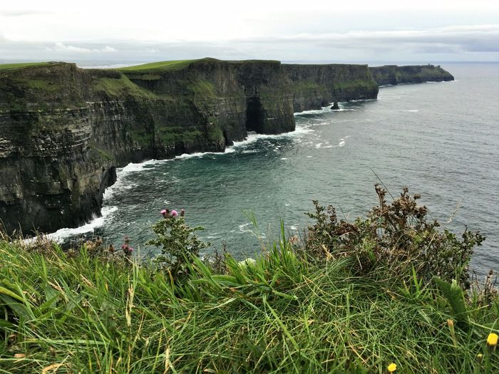 Cliff Coastline Natural Landmark Nature Outdoors Plant Remote Scenics Sea