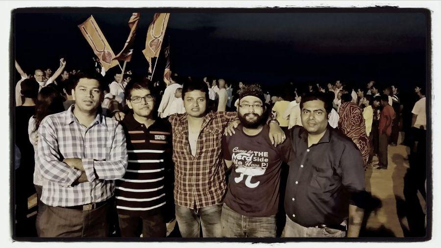 Prasun, Rishav, Vijay, Jasmeet, Dipankar Relaxing Activism Art Pgpm Spjimr