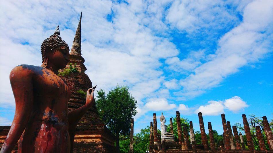 Sukhothai Historical Park Buddha Image Sukhothai, Thailand Connected By Travel