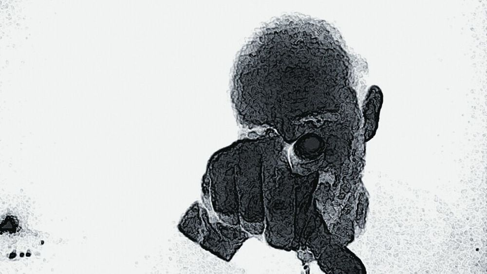 Lookin at you Heavy Edits Selfie ✌