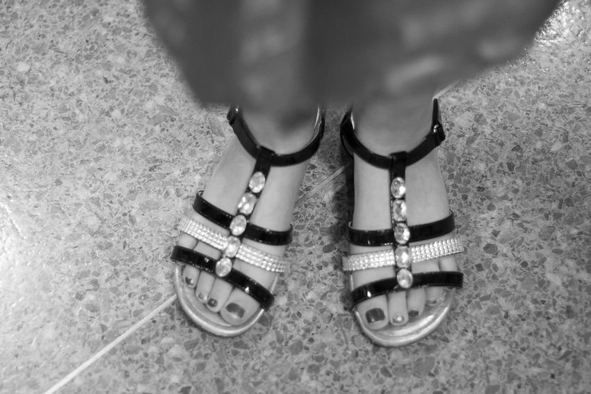 Sunday Best Balance Church Directly Above Familyevent Fancyfootwear Fashion Footwear High Angle View Human Body Part Human Foot Human Leg Ideas Lifestyles Low Section Notreallytho Old-fashioned Paintedtoenails Part Of Personal Perspective Real People Sandals Shoe Standing SundayBest Younggirl