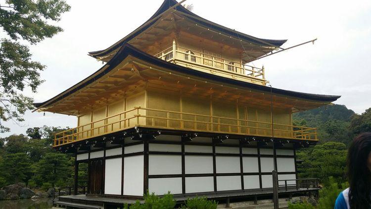 Japón At 鹿苑寺(金閣寺) Kinkaku-ji Temple