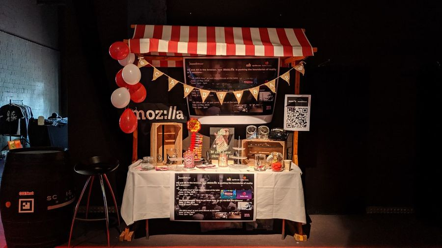 Mozilla booth