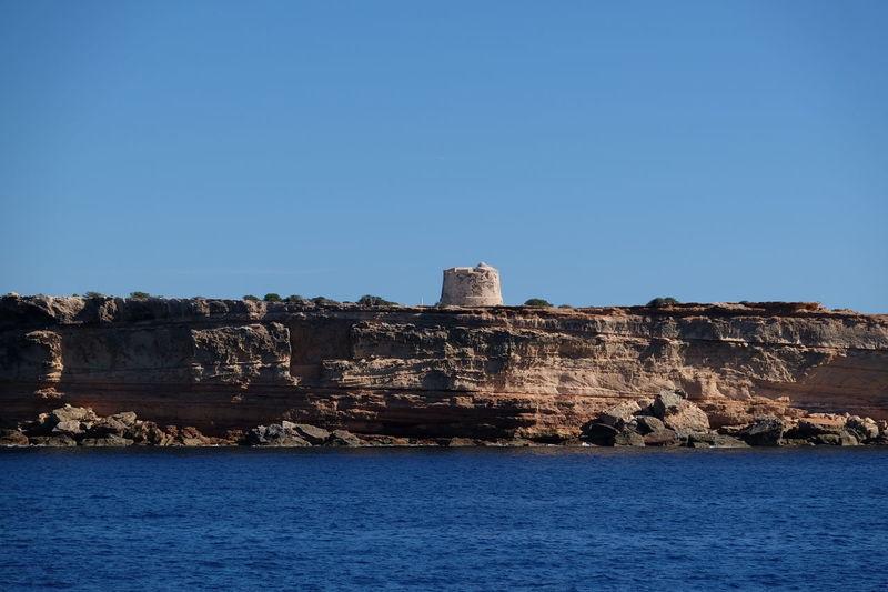 Torre De Defensa En Espalmador. Islas Baleares Fujifilm Xt1 España🇪🇸