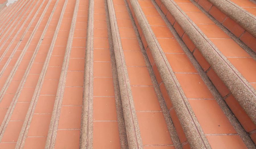 Full frame shot of metallic roof against wall