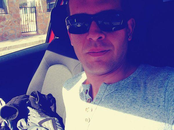 Hi! It's me, in my car. Me Selfie ✌ Peace ✌ Love ♥ Hi!