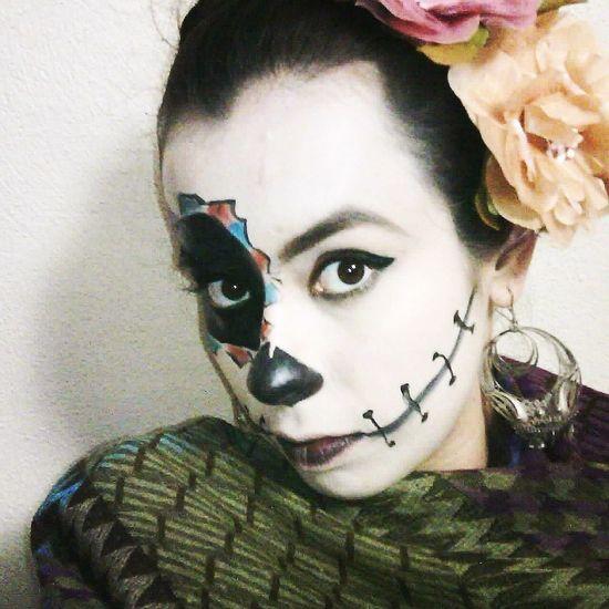 Yo Catrina Hecho En México Disfraz Makeup Fashion Hecho En México