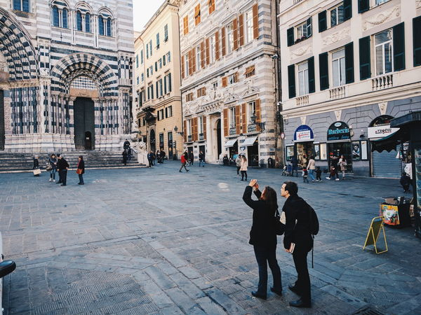 EyeEm Selects EyeEm Best Shots EyeEm Best EyeEm Shot VSCO EyeEmBestPics EyeEm Masterclass EyeEmItaly EyeEm Best Shots - My World The Architect - 2017 EyeEm Awards EyeEm Best Shots - Architecture Architecture Cityscape City Travel Destinations Architecture Built Structure Building Exterior Real People Men Day City Women Adult People Connected By Travel