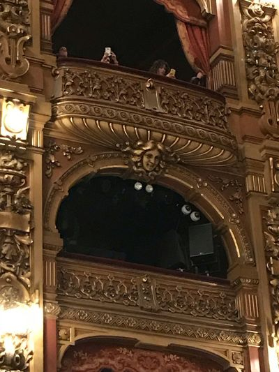 Colon Theater Balcony Cellularphotography Gold Colored Buenos Aires Teatro Colon  Colon Theater Low Angle View Architecture Built Structure The Past History Ornate