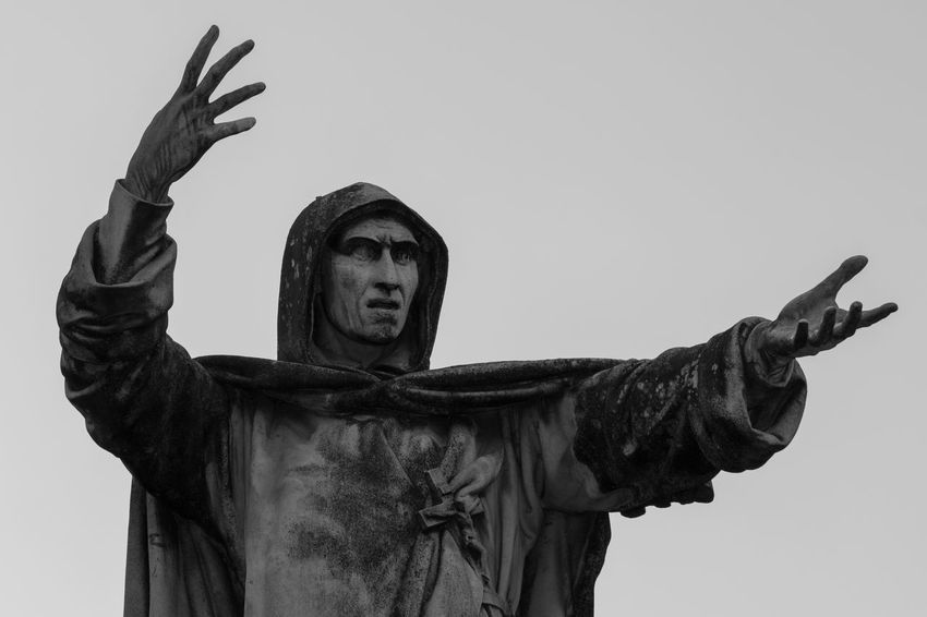 Savonarola Ferrara Ferrara- Italy FerraraCity Inquisition Italy Religion Statue Statue
