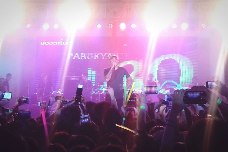 The Fan Club Concert Eyeem Philippines Performance Parokyaniedgar