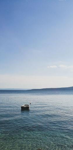 Brela  The Other Boat Croatia Sea HuaweiP9