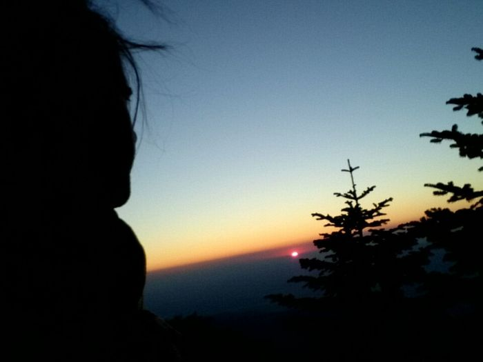 Nature Naturelovers Innature Mountain Sunset Sky Trees Silhouette Uludag Bursa / Turkey