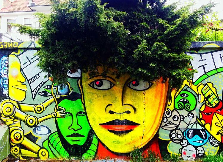 Streetphotography Street Art Graffiti Art Art, Drawing, Creativity Graffiti Wall Unique Modern
