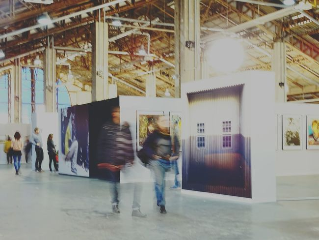 Men Adults Only Indoors  Architecture Women Adult Illuminated Built Structure People Real People Full Length Only Men City Day Young Adult Eyeem Architecture Hangar Exposição Exposition Photos Exposicion Fotografica Marseille, France Marseille City Adults Only
