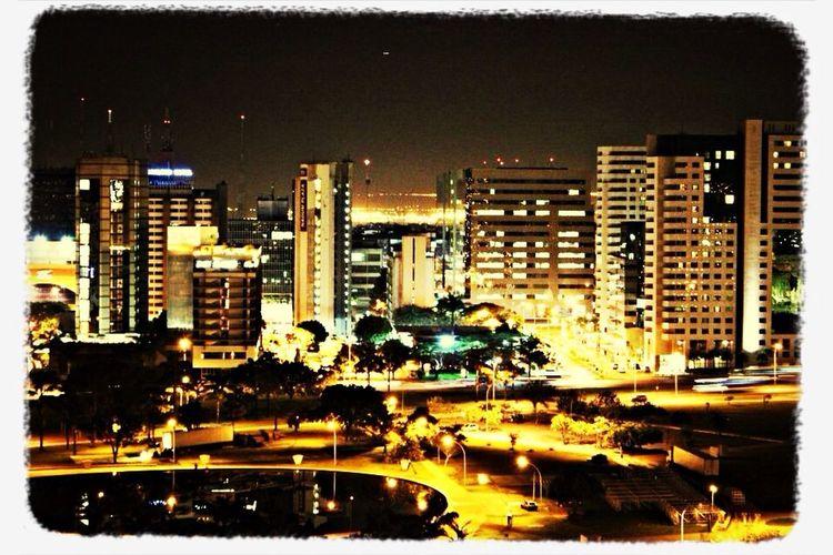 Travelling Brasília City Lights Hello World