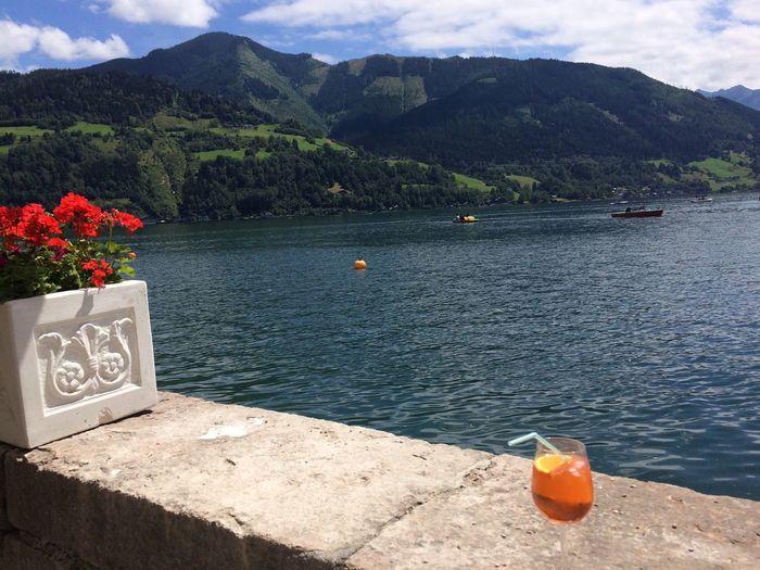 Liquid Lunch Lakeside Austria Aperol Spritz