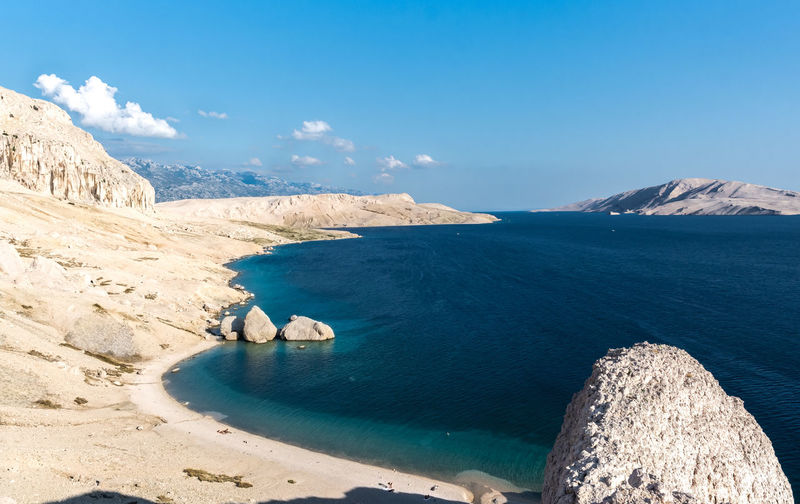 Island Pag (Metajna) … Croatia Ogi Jovic Beauty In Nature Blue Cloud - Sky Day Idyllic Land Mountain Mountain Range Nature No People Non-urban Scene Outdoors Pag Rock Rock - Object Scenics - Nature Sea Sky Solid Tranquil Scene Tranquility Water