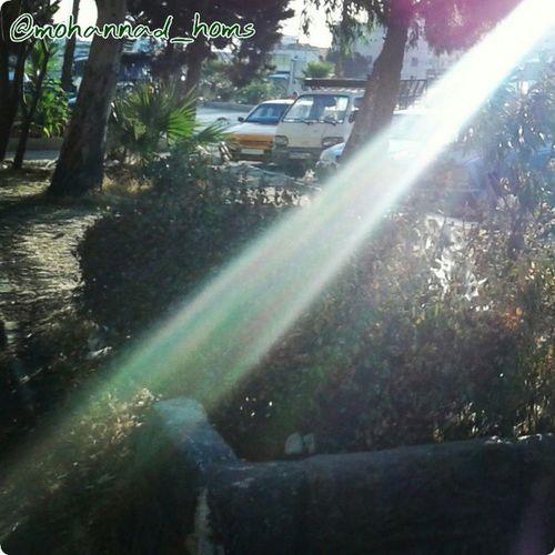 أشعة شمس الحرية تَخترِقُ الحصار لتْنيرَ حمص_المحاصرة ..! هنا_حمص حمص