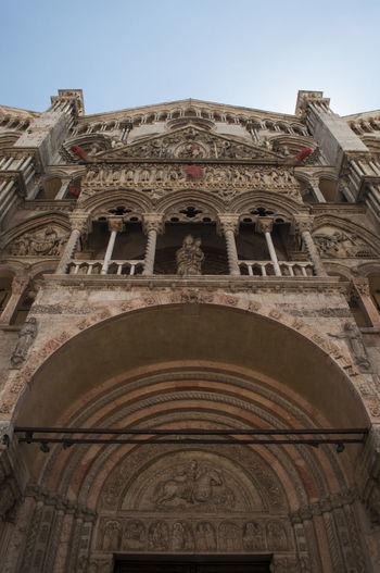 Architecture Architecture Architettura Barocco Cathedral Cattedrale Cattedrale Di San Giorgio Chiesa Church Detail Dettaglio Ferrara Gotico Ornate Portale Prospective Prospettiva Rinascimentale