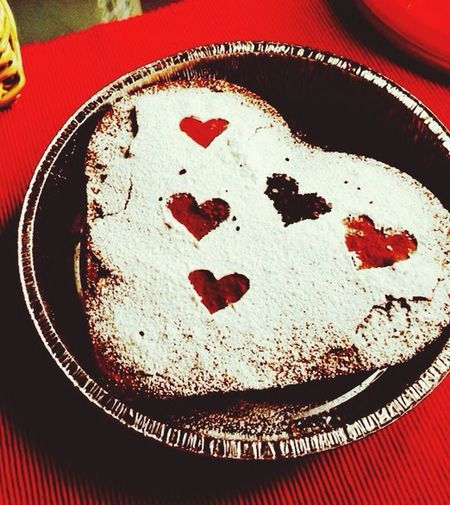 Cake Choccolate Food Heart