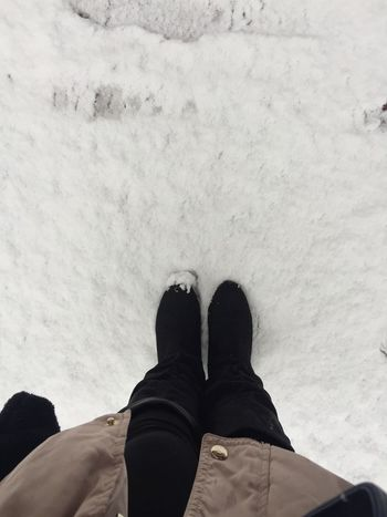 Winter Winter Boots Leisure Activity Low Section One Man Only Shoe Snow Standing The Week On EyeEm
