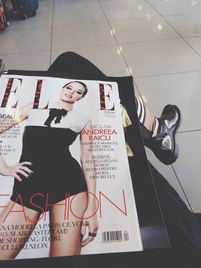 Burberry Elle Magazine