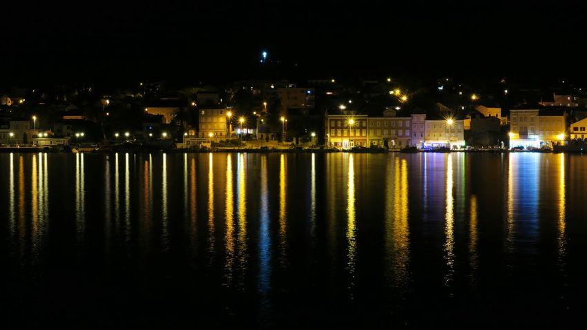 Night Illuminated Reflection No People Water Architecture City Travel Destinations Building Exterior Built Structure Outdoors Cityscape Sky Mali Lošinj Vacations Adriatic Sea Mediterranean  Scenics Croatia Mix Yourself A Good Time The Week On EyeEm Summer Outdoor Paint The Town Yellow Lost In The Landscape An Eye For Travel The Graphic City Colour Your Horizn