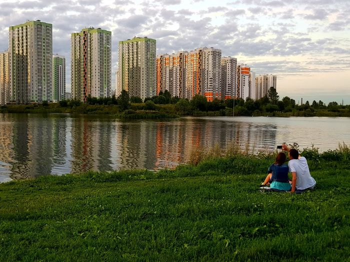 Urban Village Russia EyeEmNewHere Family Life Two People