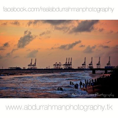 Galle Face at sunset. ImBack Abdurrahmanphotography