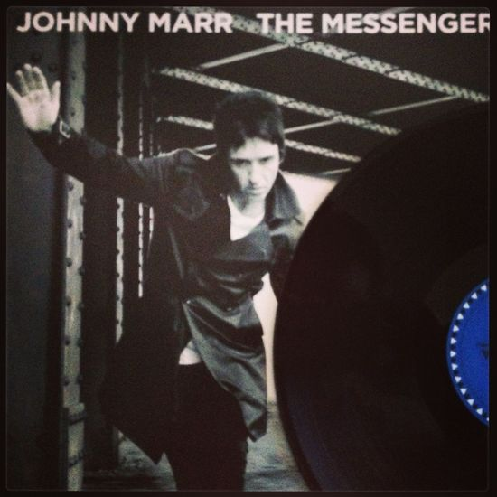 """Now spinning Johnny Marr """"The Messenger"""" Johnny Marr My Vinyl Collection Vinyl Music"""